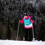 Skilanglauf 2,5 km klassisch: Sandra Turner auf der Höhenloipe Scharitzkehl. Foto: SOD/Sarah Rauch