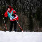 Skilanglauf 5km klassisch: Kathrin Strößner auf der Höhenloipe Scharitzkehl. Foto: SOD/Sarah Rauch