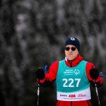 Philipp Hofmann beim 5km klassisch Langlauf auf der Höhenloipe Scharitzkehl. Foto: SOD/Sarah Rauch