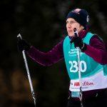 Isabelle Schildheuer beim Skilanglauf 2,5km klassisch auf der Höhenloipe Scharitzkehl. Foto: SOD/Sarah Rauch