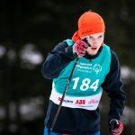 Armin Preiss beim 2,5km klassisch Langlauf auf der Höhenloipe Scharitzkehl. Foto: SOD/Sarah Rauch